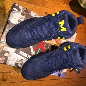 Jordan Retro 11 Michigan